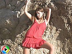 Extreme Teen on Rocks
